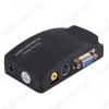 Видеоконвертер RCA/ S-VIDEO TO VGA (5-981) Вход RCA, SVHS; выход VGA; питание 5VDC