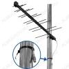 Антенна наружная Дельта H111-02 пассивная ДМВ/DVB-T2; 8,5dB; без кабеля; F-разъем