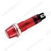 Лампа индикаторная 12V RWE-101 красная, d=7.2mm