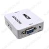 Видеоконвертер VGA+AUDIO TO HDMI (5-982) (VGA2HDMI) Вход VGA + аудио L/R 3.5мм; выход HDMI; разрешение 1080p; питание 5VDC