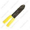 Клещи для зачистки/обрезки/обжима провода 0.75-5.5мм HT-204 12-3033 обжим неизолированных и изолированных наконечников; сечение: 1.25-5.5мм; снятие изоляции; резка провода