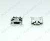 Разъем (387) MICRO USB 5pin гнездо на плату (5SDM) нижнее крепление, short pin