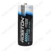 Аккумулятор 26650 (3.7V, 4000mAh) LiIo; 26*65мм с защитой от чрезмерного заряда/разряда                                           (цена за 1 аккумулятор)