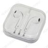 Наушники вкладыш с микрофоном (Гарнитура для iPhone 5 белая Copi)