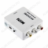 Видеоконвертер VIDEO+AUDIO TO HDMI (5-985) (AV2HDMI) Вход видео RCA + аудио L/R RCA; выход HDMI; питание 5VDC от USB