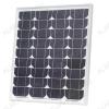 Солнечная панель монокристаллическая SIM50-12-5BB 50Вт (12В) Общая площадь - 0,35 м2; Размер - 770*515*30мм; Вес -4,2 кг