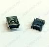 Разъем (3744) MINI USB B 5FR (5SD1P) Гнездо на плату 5-pin угловое