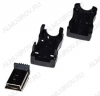 Разъем (3750) MINI USB B 5P штекер на кабель с кожухом
