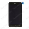 Дисплей для HTC Desire 400 + тачскрин черный