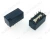 Реле TX2-L2-12V   Тип 00.1 12VDC 2C(DPDT) 2A 15*7.4*8.2mm; бистабильное, 2 катушки