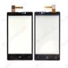 ТачСкрин для Nokia 820 черный