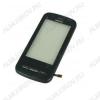 ТачСкрин для Nokia C6-00 с рамкой черный