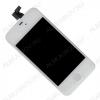 Дисплей для Apple iPhone 4S модуль белый дисплей, стекло, тачскрин