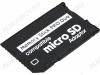 Карта Memory Stick Pro Duo - переходник с MicroSD