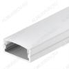 Профиль накладной ARH-WIDE-H10-2000 ANOD (016142)  для LED-ленты шириной до 19мм размеры: 2000*23.5*10мм