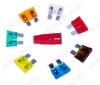 Набор автомобильных предохранителей (80-7022) стандарт блистер 10 штук (5А-1шт, 7.5А-1шт, 10А-2шт, 15А-2шт, 20А-2шт, 25А-1шт, 30А-1шт); экстрактор