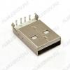 Разъем (3723) USB A-1M Штеккер на плату угловой