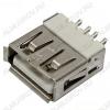 Разъем (3713) USB A-FB Розетка на плату прямая без креплений