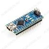 Плата отладочная NANO v.3, ATmega328, Рабочее напряжение: 5 В/14 цифровых портов ввода / вывода (6 поддерживают ШИМ)/Flash память: 32 Кб