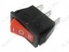 Сетевой выключатель RWB-416 красный с нейтралью 28,0*10,5mm; 15A/250V; 3 pin