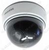Муляж видеокамеры OT-VNP11_(AB-1500B); купольный, белый, Питание: 3*АA; красный мигающий светодиод