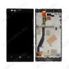 Дисплей для Nokia Lumia 720 + тачскрин черный