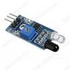 Датчик препятствий ИК,  для обнаружения объектов (препятствий) в зоне действия датчика. Эффективная дальность действия: 2-30см.; Рабочее напряжение: 3.3-5В.; Размеры: 3.2см*1.4см.