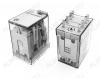 Реле 55.32.9.024.0040 (553290240040)   Тип 17 24VDC 2C(DPDT) 10A 27.7*20.7*37.2mm; блокируемая кнопка проверки + механический индикатор