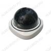 Муляж видеокамеры OT-VNP09_(AB-1200); купольный, белый, Питание: 2*AAA; красный мигающий светодиод