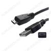 Шнур USB A шт/MICRO USB B 5pin шт 1.0м (HT-3038/OT-SMM41)
