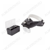 Лупа очки (х1.2/1.8/2.5/3.5), с LED подсветкой, (12-0402) Кратность: х1.2/1.8/2.5/3.5;  питание батарейки ААА-2 шт