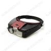 Лупа очки (х1.5/4/7) MG81007-A (OT-INL12), с LED подсветкой Кратность: 1,5х/4х/7х; Подсветка 2 диода; Питание от 2*ААА (в комплект не входят)