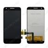 Дисплей для Alcatel OT-4027D/ 5017D/ 5019D/ 5017X (Pixi 3) + тачскрин черный