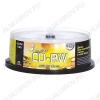 CD-RW диск 700Mb 80min 12xspeed 25шт