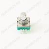 Энкодер а/м 5 pin с кнопкой (12) (R2) Вал 10 мм, металл, лыска