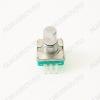 Энкодер а/м 5 pin с кнопкой (13) (R1) Вал 12 мм, металл, лыска