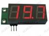 Радиоконструктор Вольтметр цифровой 0...+99В SVH0001R встраиваемый (красный) Диапазон измеряемых напряжений 0..+99В,напряжение питания (фильтрованное) +6В..+20В (с радиатором до +35В),45х19х14мм,шунт в комплект не входит