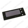 Радиоконструктор Панель лицевая чёрная FS74x29B-49x17M (STH0024) (74х29мм, окно 49х17мм) (Распродажа Термостаты STH0024