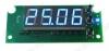 Радиоконструктор Термостат цифровой встраиваемый STH0024UB-v3 (голубой, с выносным датчиком) Диапазон измеряемых температур -55°C..+125°C;Напряжение питания +7..+15 В; Коммутируемый переменный ток при 240В(постоянный при 28В)до 10 А