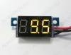Радиоконструктор Вольтметр цифровой 0...100В RI026 встраиваемый (жёлтый) Модуль вольтметра предназначен для встраивания в приборную панель. Модуль питается от измеряемого напряжения.