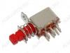 Сетевой выключатель RWD-323 ON-(ON) без фиксации 1A/250V; 6pin