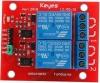 Радиоконструктор Модуль реле 2 канала 5В RA002 (коммутация до 250В 10А) Модуль содержит 2 независимых реле. Каждое реле имеет одну группу контактов на переключение. Модуль имеет оптическую развязку!