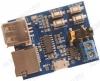 Радиоконструктор Аудиоплеер MP3 с USB/microSD + усилитель 1х3Вт RS012 Поддерживает накопители объёмом до 32 Гб. Встроенный разъём для наушников.Питание от MicroUSB или от другого источника DC 3,7...5,5 В