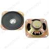 Динамик d=100mm; h=35mm; YD100-10RU45; 8R; 3W/5W; 130-12500 Hz уши; для радиоприемников