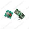 Радиоконструктор Передатчик+приёмник 4 канала 315МГц (до 300м) AU-RM-5V Питание: 4.5 ~ 7 В; Рабочий ток (мА): 4.5 мА; Чувствительность приемника (дБм):-105 дБ; Рабочий диапазон: до 300 м (984фут); РФ Радио: 315 мГц;