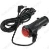 Шнур прикуриватель шт/3.4x1.4 шт 1.2м угловой с кнопкой