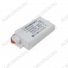 Драйвер светодиодный ZF-AC  27W 600mA Uвх.=220VAC; Uвых.=20-30VDC; 84*35*20мм