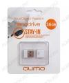 Карта Flash USB 16 Gb (NanoDrive White mini) USB 2.0