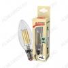 Лампа светодиодная 220В/  5Вт/ E14/ 4500К (дневной белый) (L361)/ 450lm (EcoLedFL5wCNE1445);