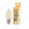 Лампа светодиодная 220В/  5,0Вт/ E27/ 4500К (дневной белый) (L363)/ 450lm (EcoLedFL5wCNE2745);